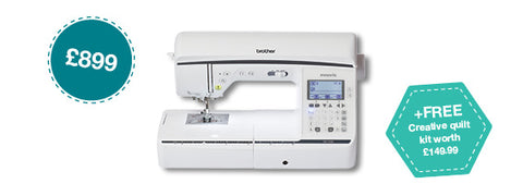 brother sewing machine 1300 innovis crafty sew and so