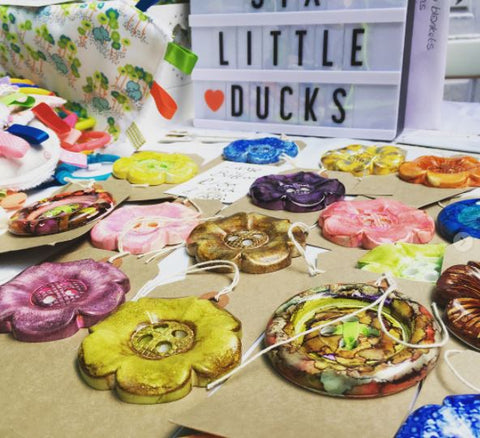 Craft fair at Crafty sew and so leicester