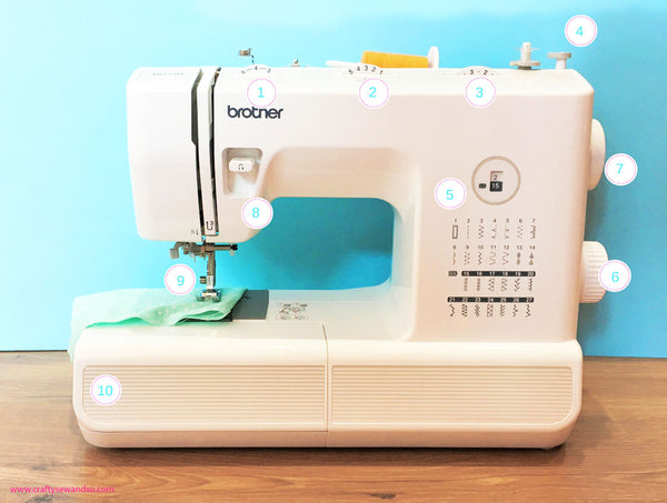 Getting to know your mechancial sewing machine with Crafty Sew&So