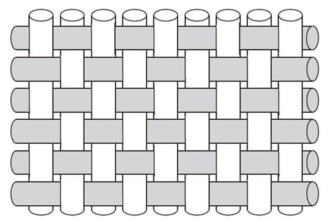 plain weave diagram