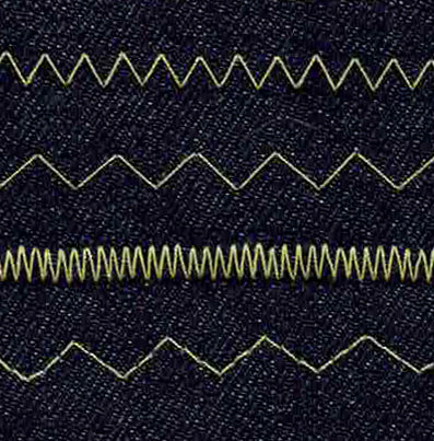learn to sew crafty sew and so zig zag stitch