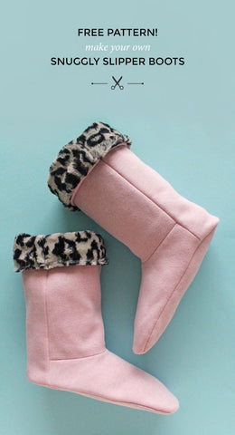 Slipper Boot Sewing Tutorial