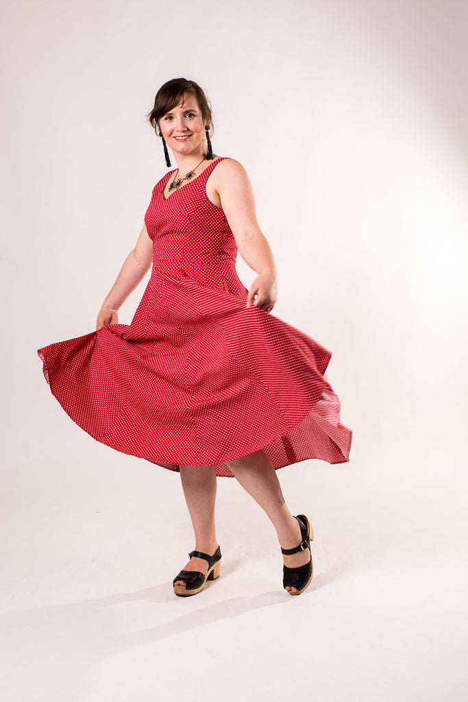 my handmade wardrobe ready to party dress pattern