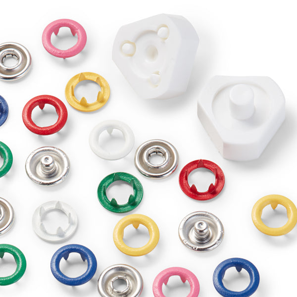 Prym Love Jersey Snap Fasteners in 6 colours