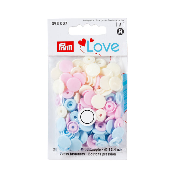 Prym Love Colour Snaps - Pastel