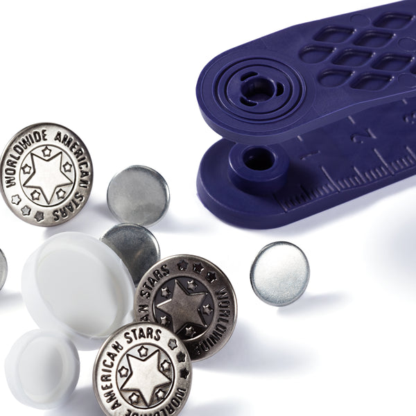Prym Jeans Buttons 17mm - worldwide American stars