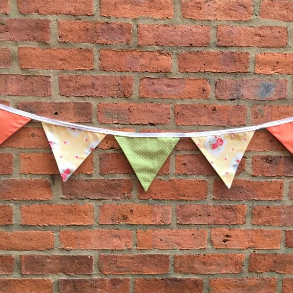 Learn to Sew - Bunting