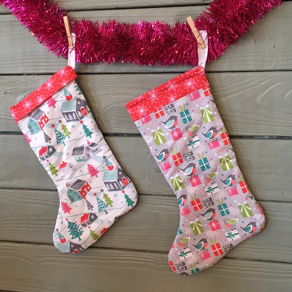 Learn to Sew: Christmas Stocking