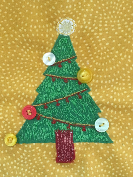 Techniques - Freehand Machine Embroidery Christmas Designs