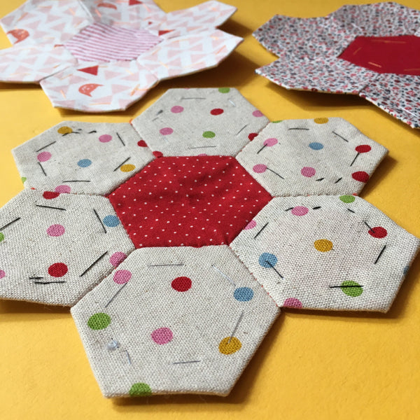 Live Online Workshop - Introduction to English Paper Piecing Patchwork