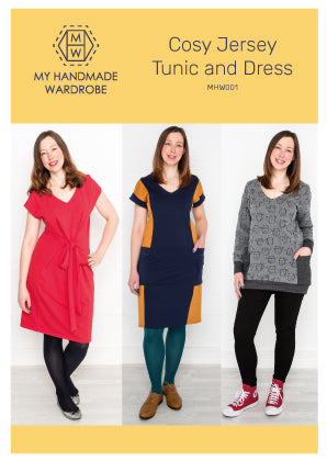 My Handmade Wardrobe Cosy Jersey Dress and Tunic PDF Pattern