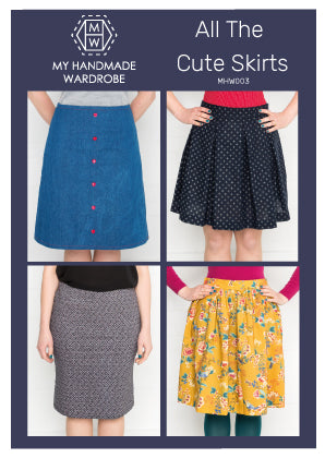 My Handmade Wardrobe All the Cute Skirts PDF Pattern