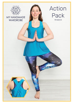 My Handmade Wardrobe Action Pack Top and Leggings PDF Pattern