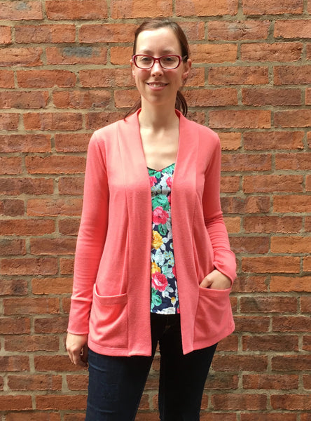 Dressmaking: Cosy Cardigan with My Handmade Wardrobe Patterns