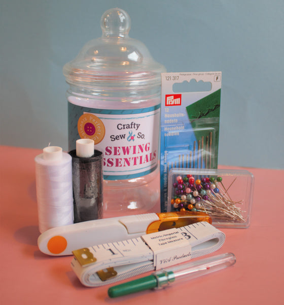 Sewing Essentials Jar Kit