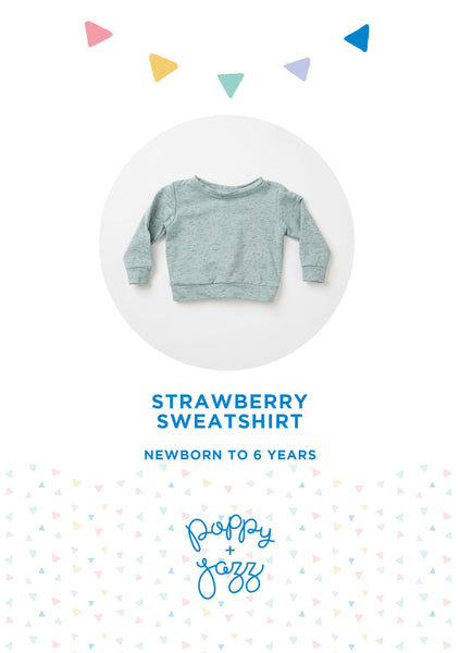 Poppy and Jazz Strawberry Sweatshirt