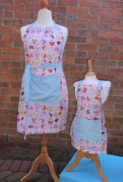 Crafty Sew & So Adults and Childrens Apron Paper Pattern