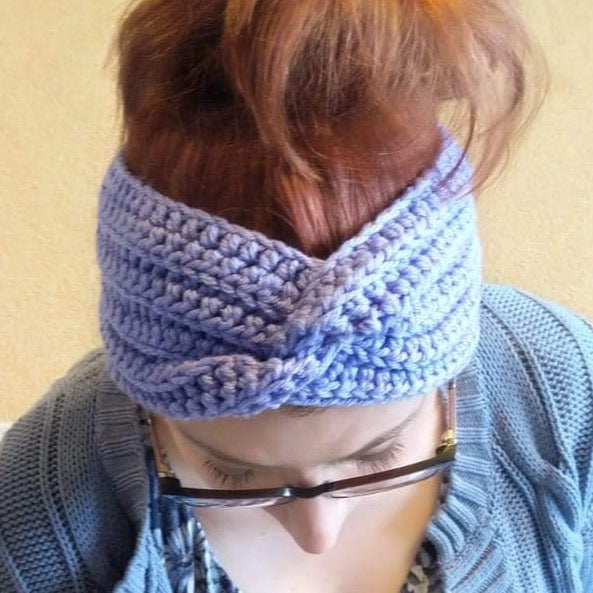 Live Online Workshop - Crochet Twist Headband