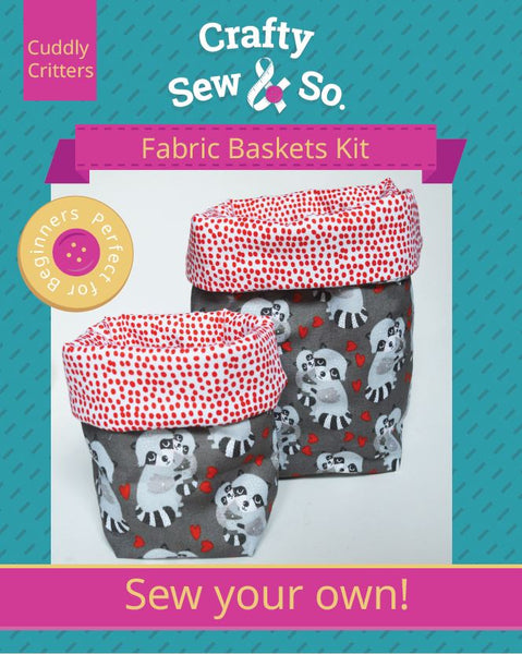 Fabric Basket Sewing Kit
