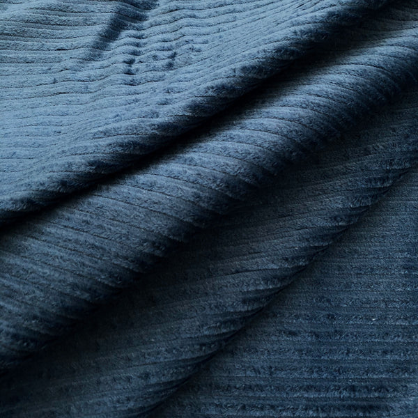 Aegean Blue Super Chunky Stretch Corduroy