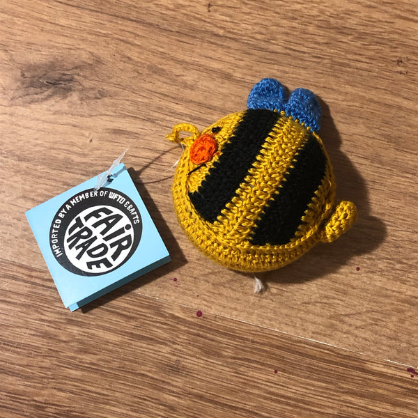 Fair Trade Crocheted Tape Measures