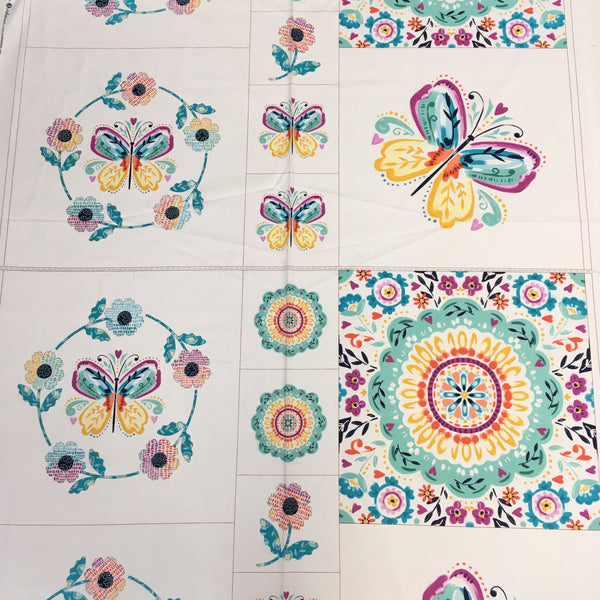 Summer Song Craft Cotton Panel - Price per Panel