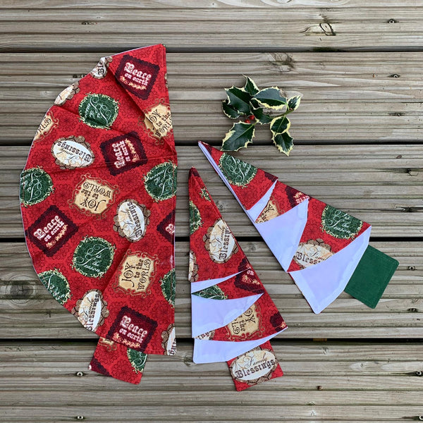 Live Online Workshop- Christmas Napkin- Taster Only £5!