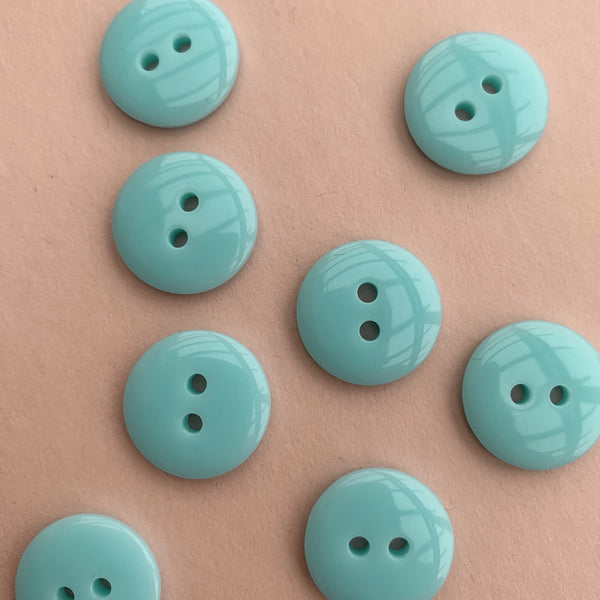 Sea Foam Green Buttons Pack of Five