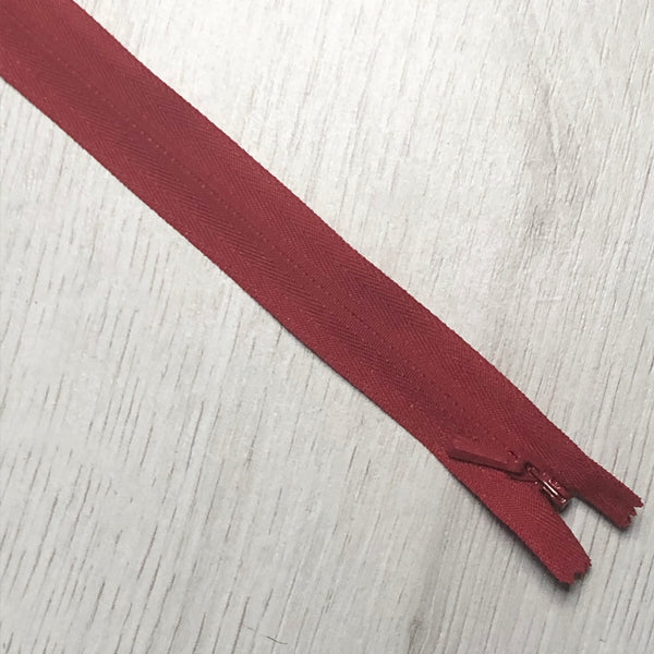 "YKK 16"" Invisible Zips"