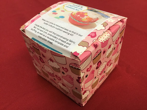 Crafty Sew & So Cupcake Pincushion Kit