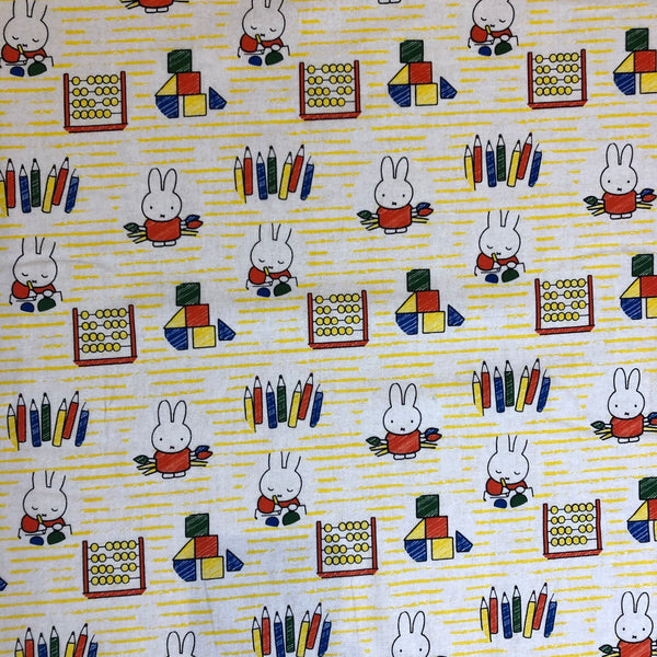 Miffy School Days Craft Cotton