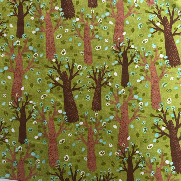 Animal Trees Quilting Cotton
