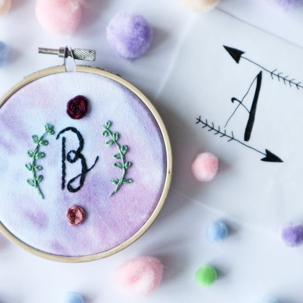 Embroidery to Dye For with Kiwi and the Bear