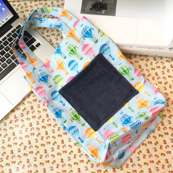 Live Online Workshop - Pocket Tote Bag