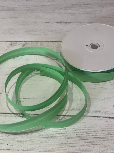 Light Green 16mm Bias Binding