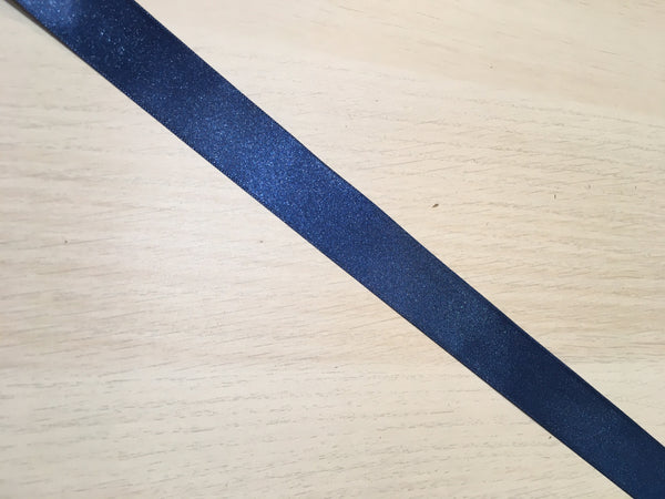 Navy Blue Satin Ribbon 25mm