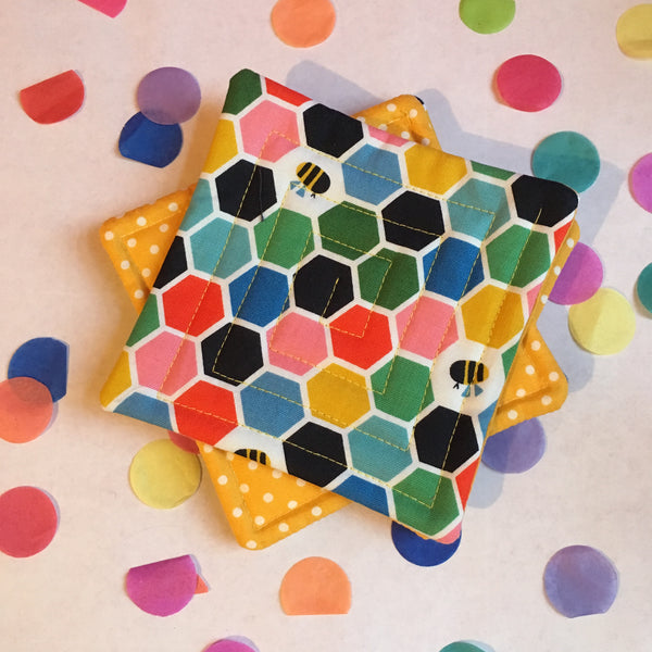 Live Online Workshop - Quilted coasters taster class