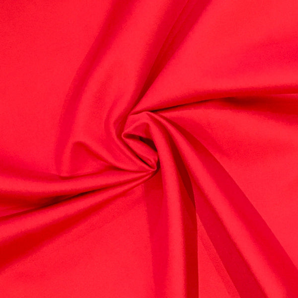 Red Stretch Twill