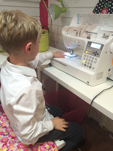 Family Sewing Session: Make an Apron