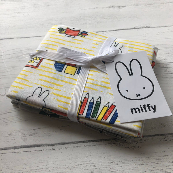 School Days Miffy Fat Quarter Bundle