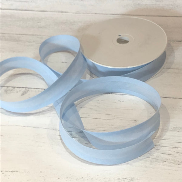 Sky Blue 25mm Bias Binding