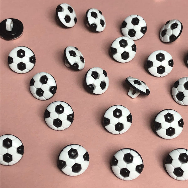 Football 3D Buttons Pack of Five