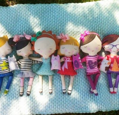 Doll Sewing Panel- Misc Designs