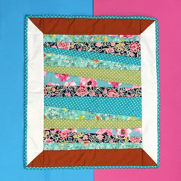 Patchwork and Quilting: thread spool wall hanging