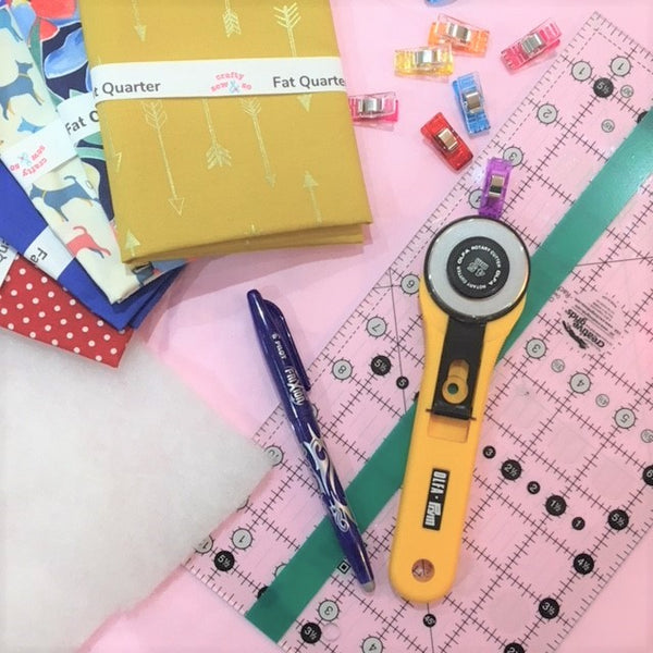Patchwork and Quilting - Introduction to Patchwork and Quilting