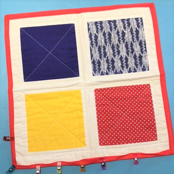 Live Online Workshop- Introduction to Patchwork and Quilting - 2 week mini-course