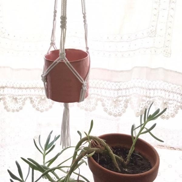 Introduction to Macrame - Make a Pot Hanger