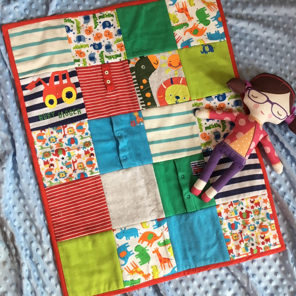 Patchwork and Quilting - Sew a Memory Quilt