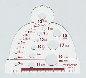 Knitting Needle Gauge