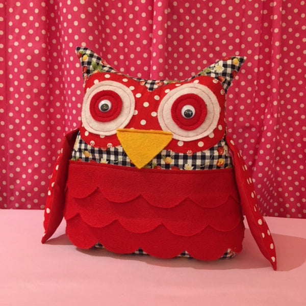 Learn to Sew: Owl Door Stop